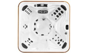 Top view of the Arctic Spas Yukon hot tub